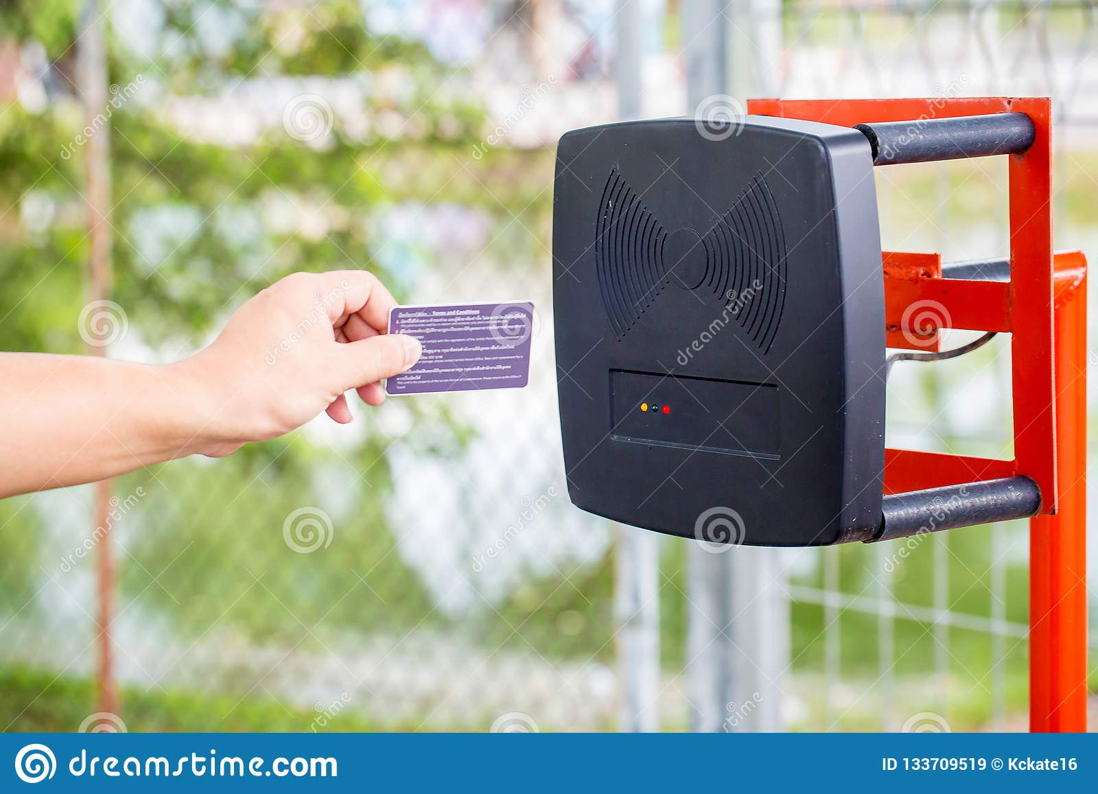 Parking samochodowego automatyczny hasłowy system System bezpieczeństwa dla budować dostęp - bariery bramy przerwa z opłaty drogo