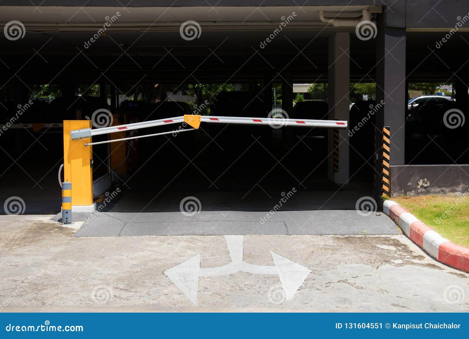 Parking samochodowy bariera, automatyczny hasłowy system System bezpieczeństwa dla budować dostęp - bariery bramy przerwa z opłat