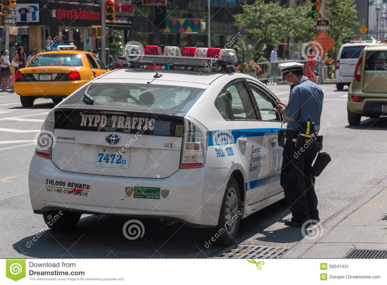 Nyc Traffic Ticket >> Parking Ticket Editorial Image | CartoonDealer.com #50041542