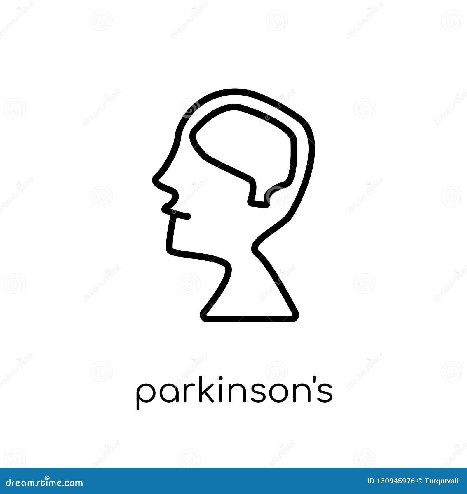 Parkinson-Krankheits-Ikone