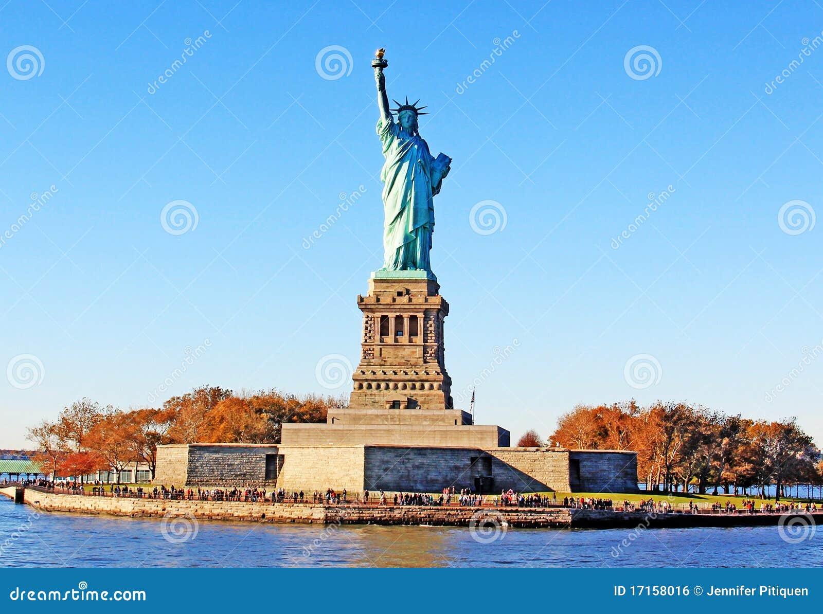 Parkowa swobody statua