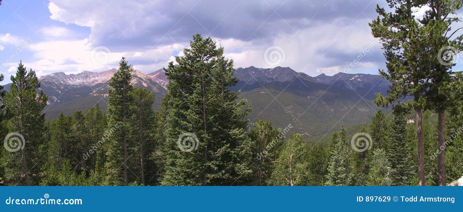 Parku narodowego gór 2 rocky