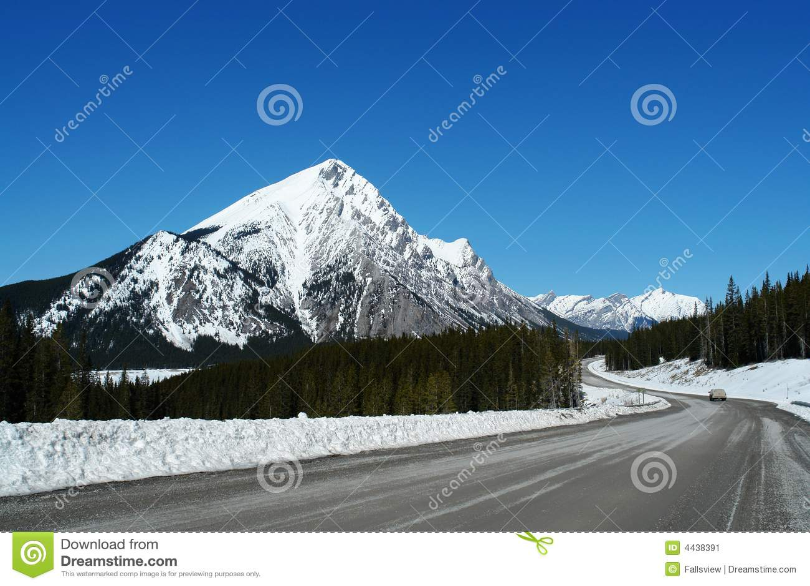 Parkway do icefield da mola