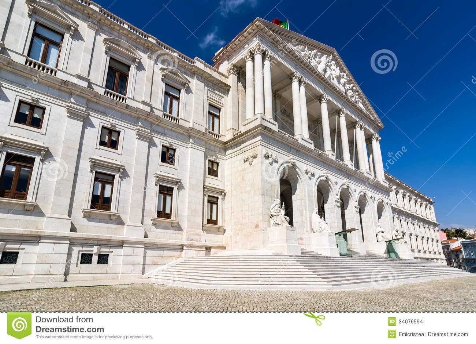 Parlament av Portugal, Lissabon