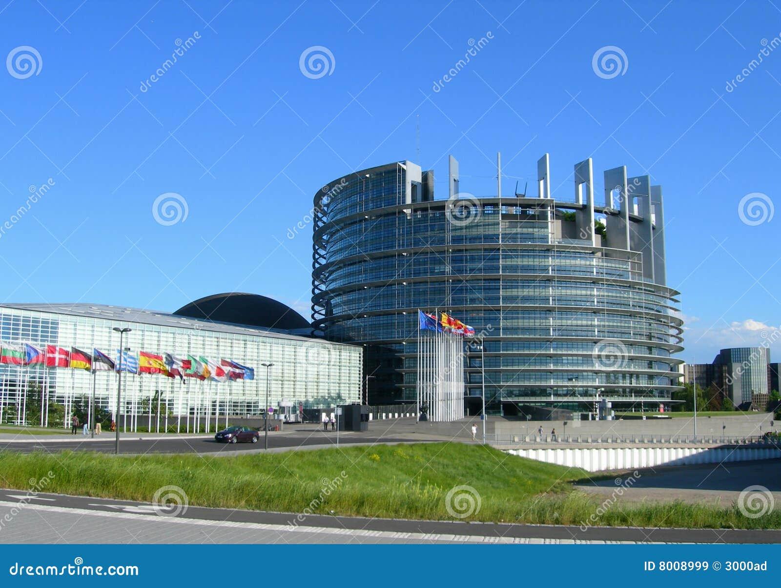 Parlament europejski Strasbourg