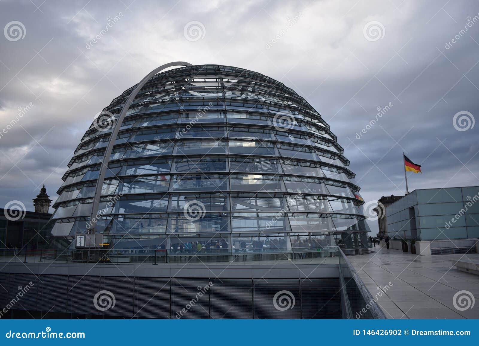 Parlament Reichstag van Berlijn