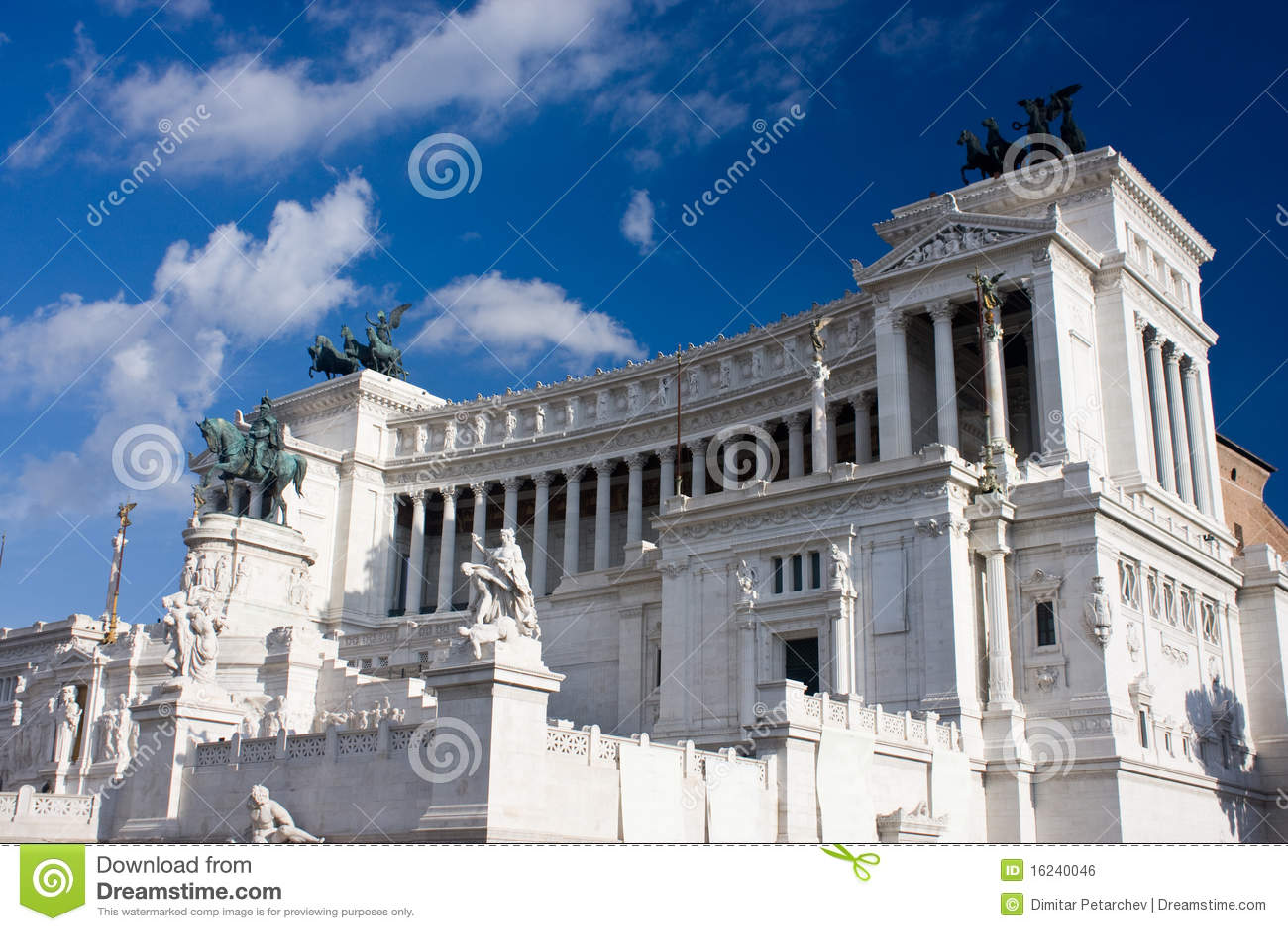 Parlament von rom lizenzfreies stockbild bild 16240046 for Roma parlamento