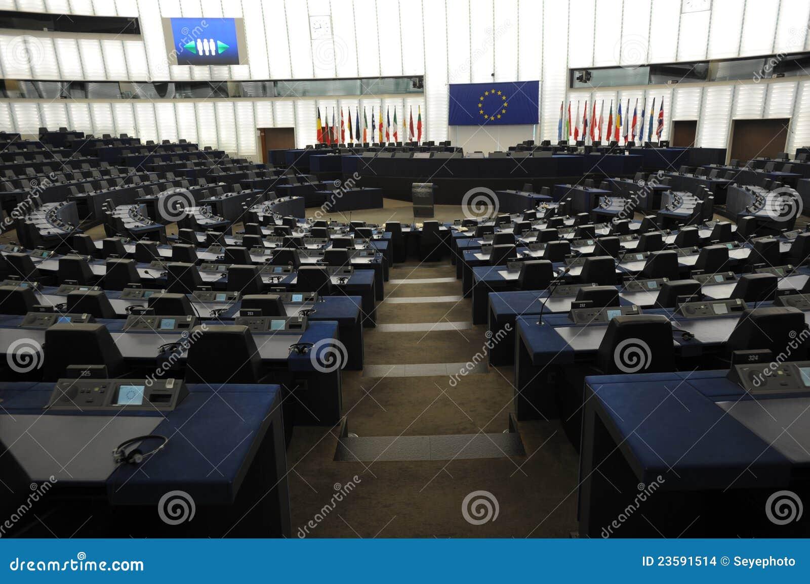 Download Parlamento Europeo Strasburgo Fotografia Stock - Immagine di euro, parlamento: 23591514
