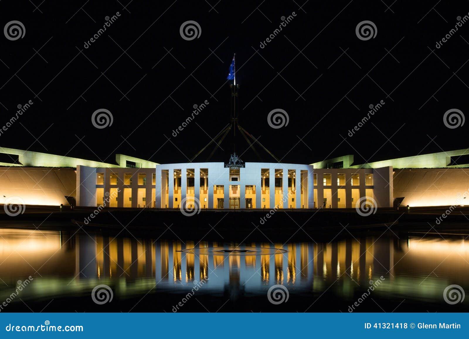 Parlamentsgebäude Canberra Australien
