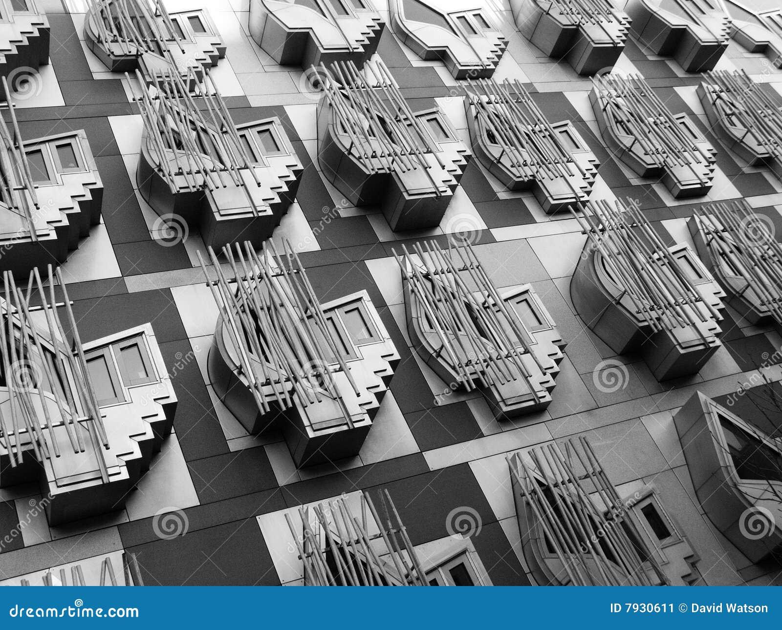 Parlamentskottfönster