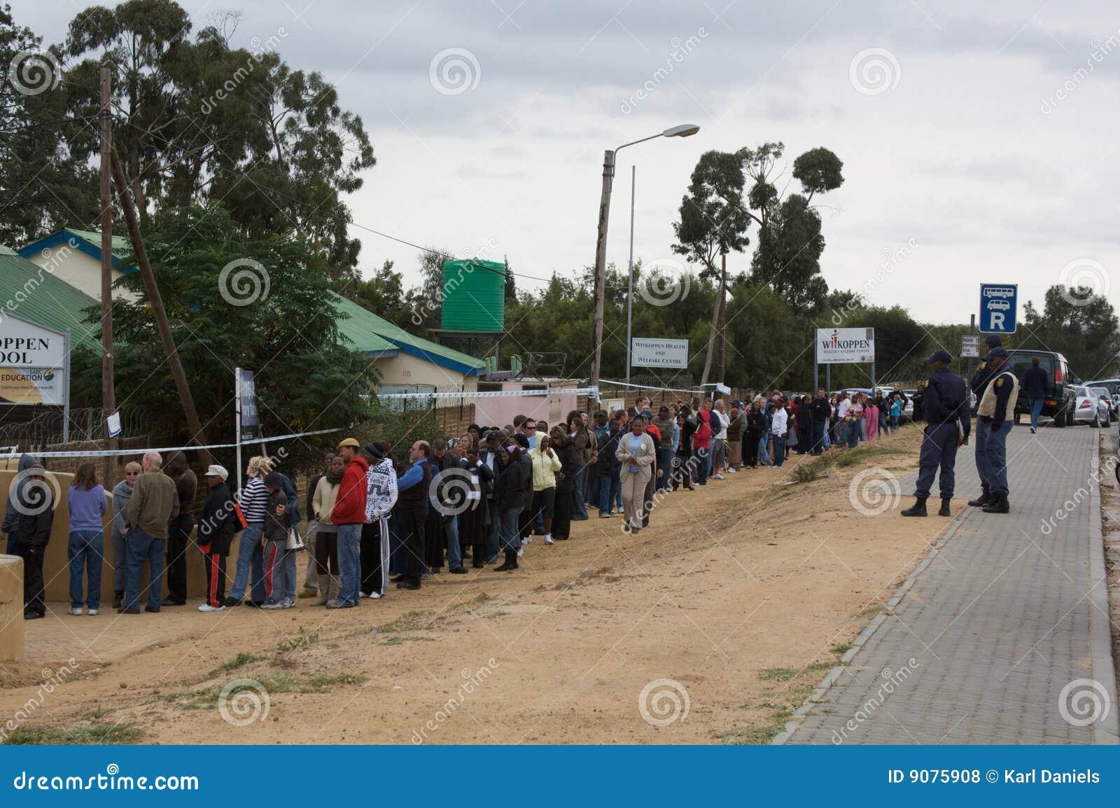 Parlamentswahl Südafrika 2009