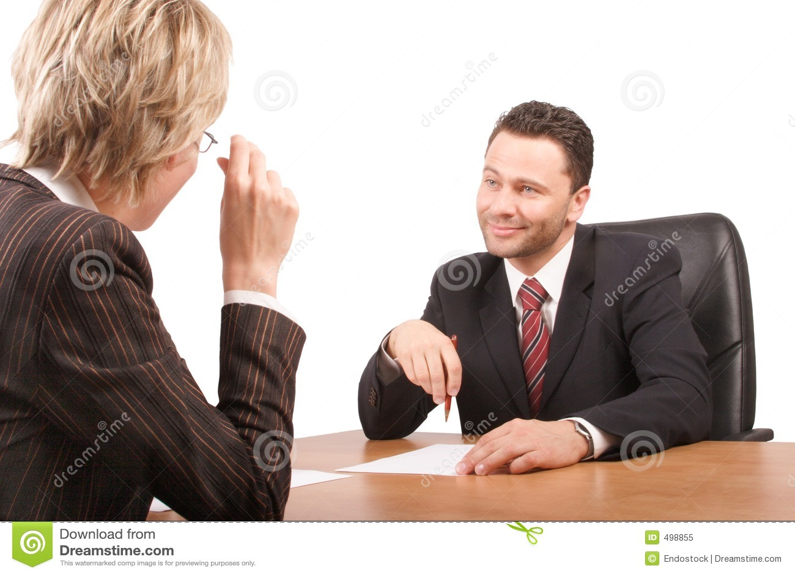 Parler blanc d homme et de femme d affaires