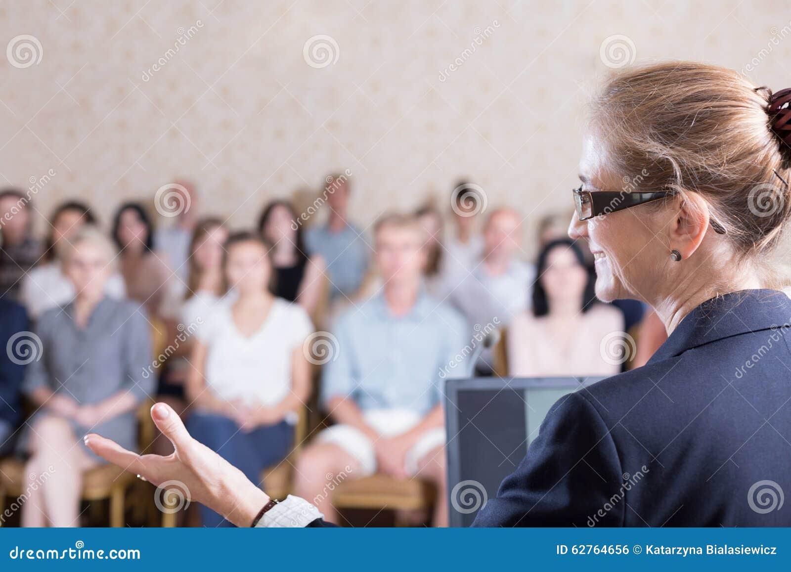 Parler pendant la formation