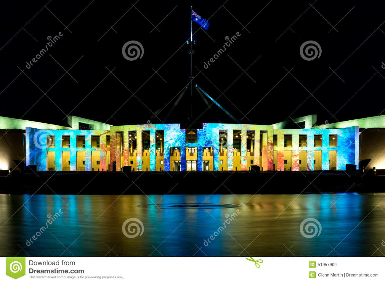 Parliamenet House at Enlighten 2015