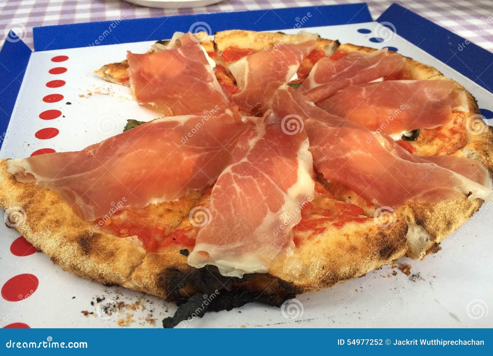 Parma Ham Italian Pizza