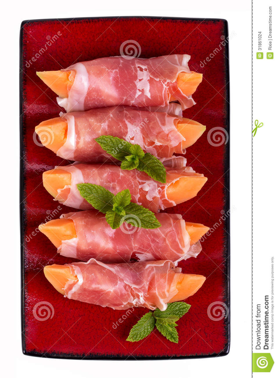Parma Ham And Melon Stock Photo Image Of Gastronomic