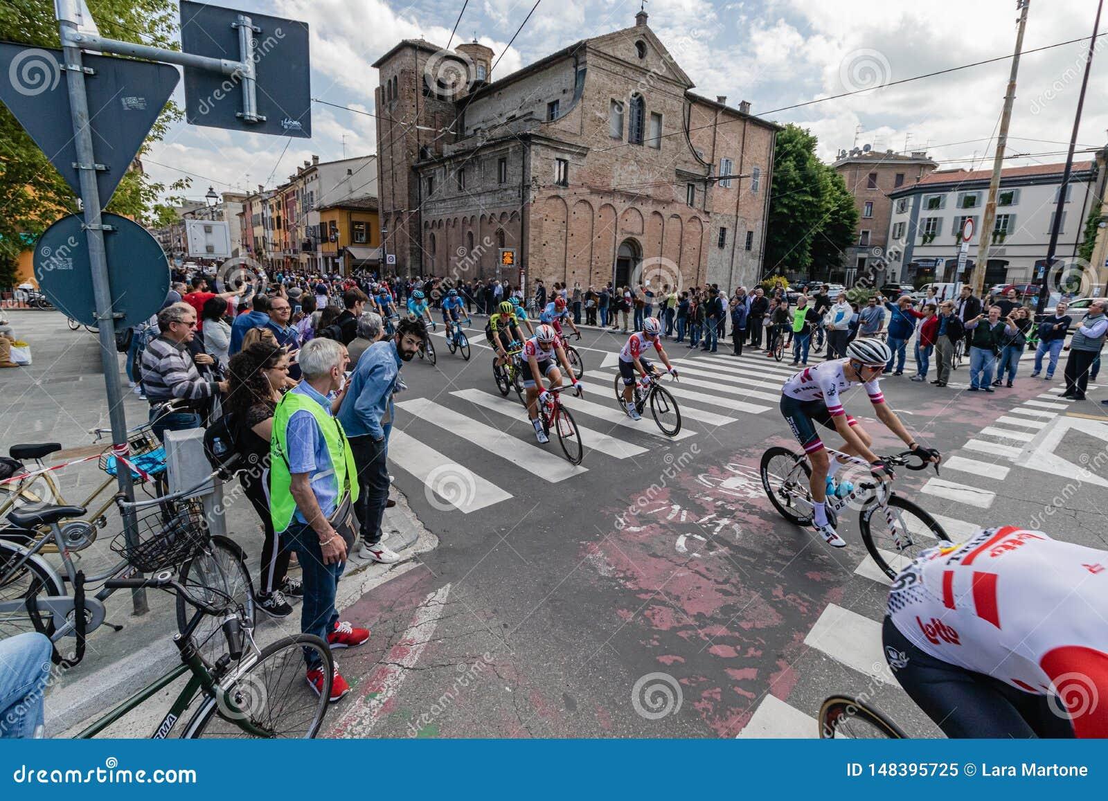 Parma, Italia - 22 de mayo de 2019: Giro d ?Italia