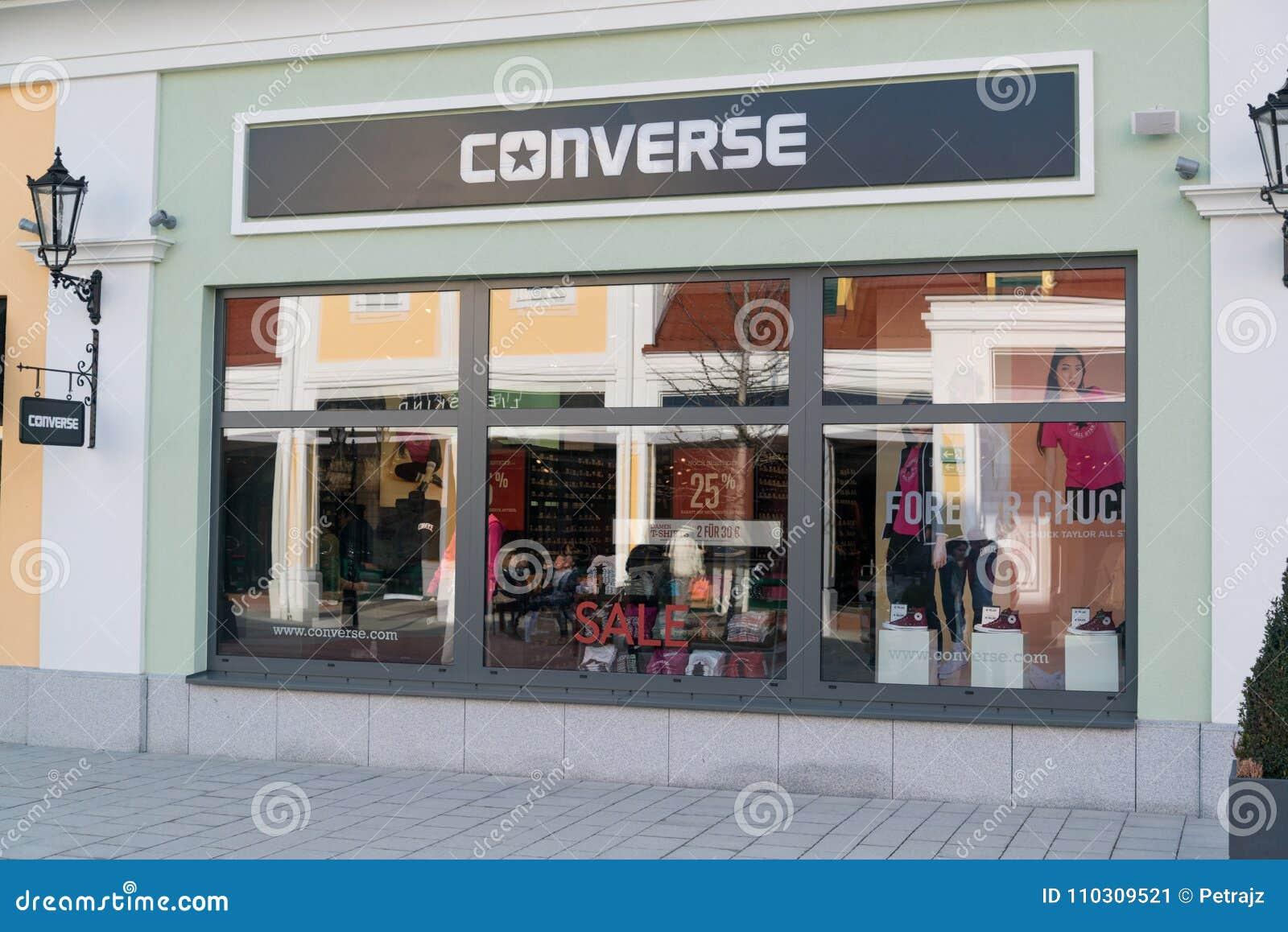 Converse Store In Parndorf, Austria