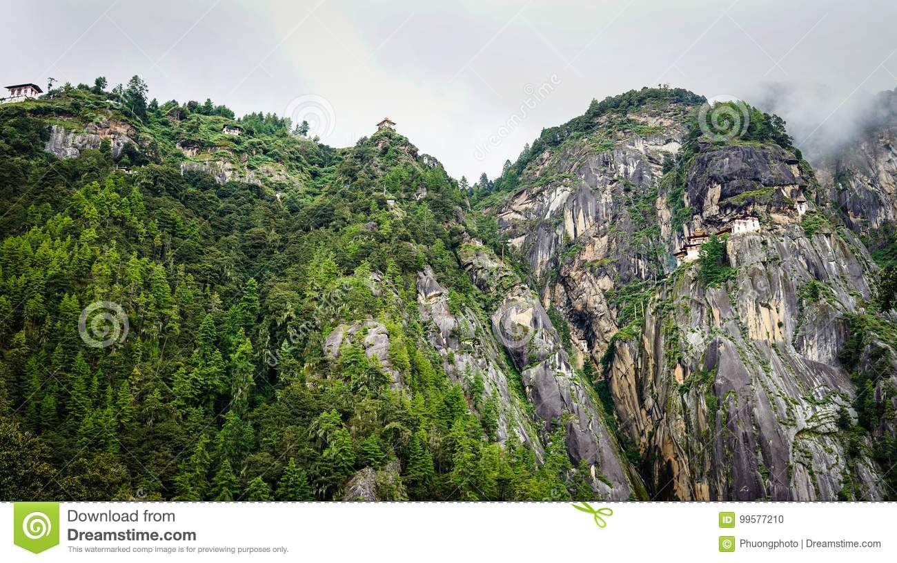 Paro Taktsang Tiger Nest in Bhutan