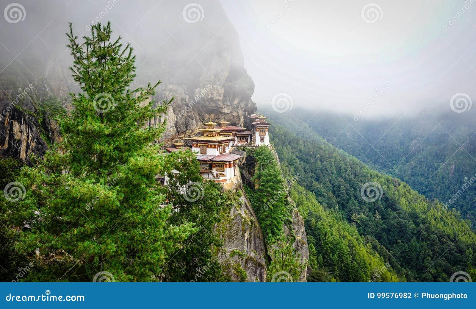 Paro Taktsang Tiger Nest in Bhutan