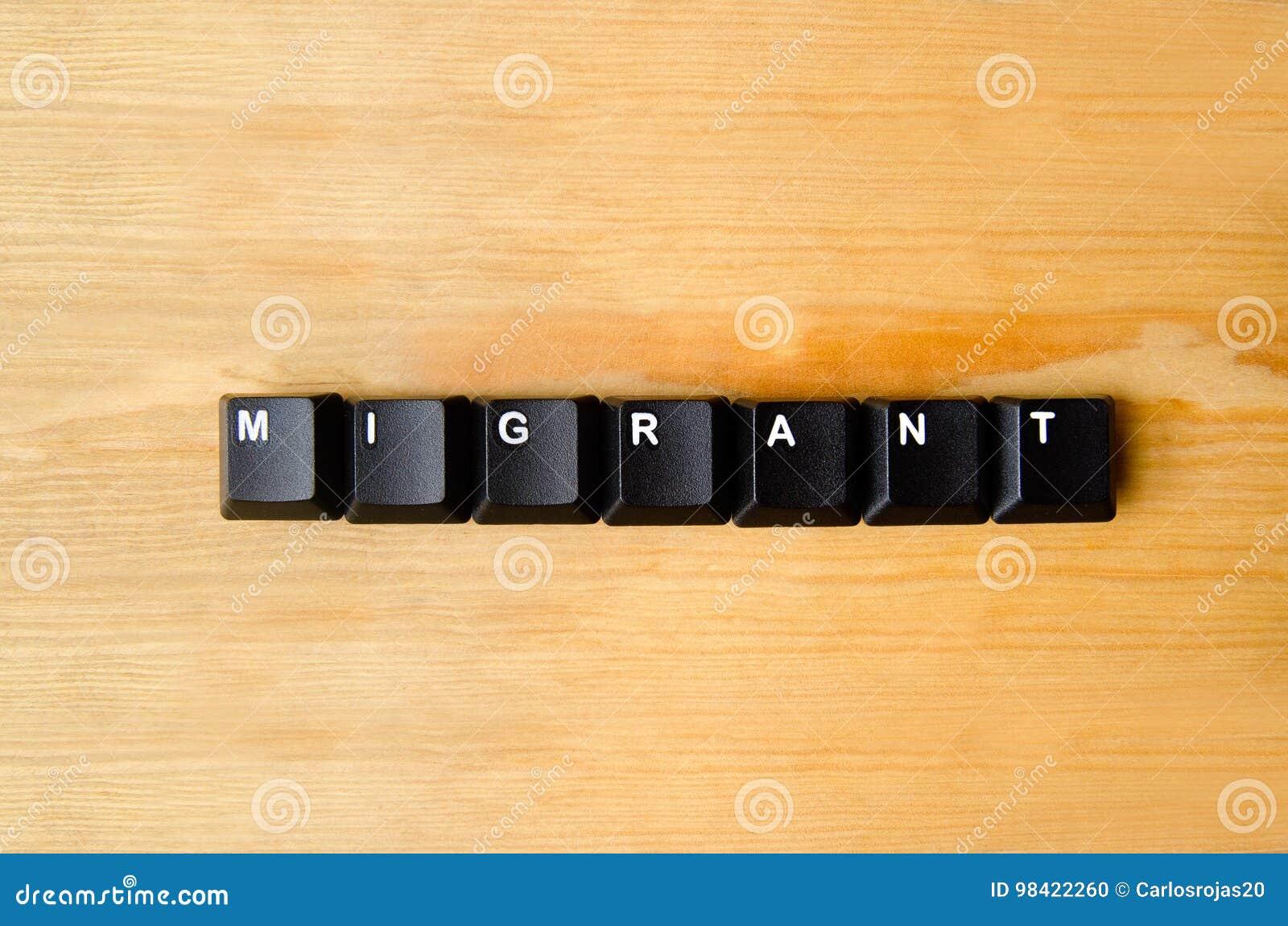 Parola migratore