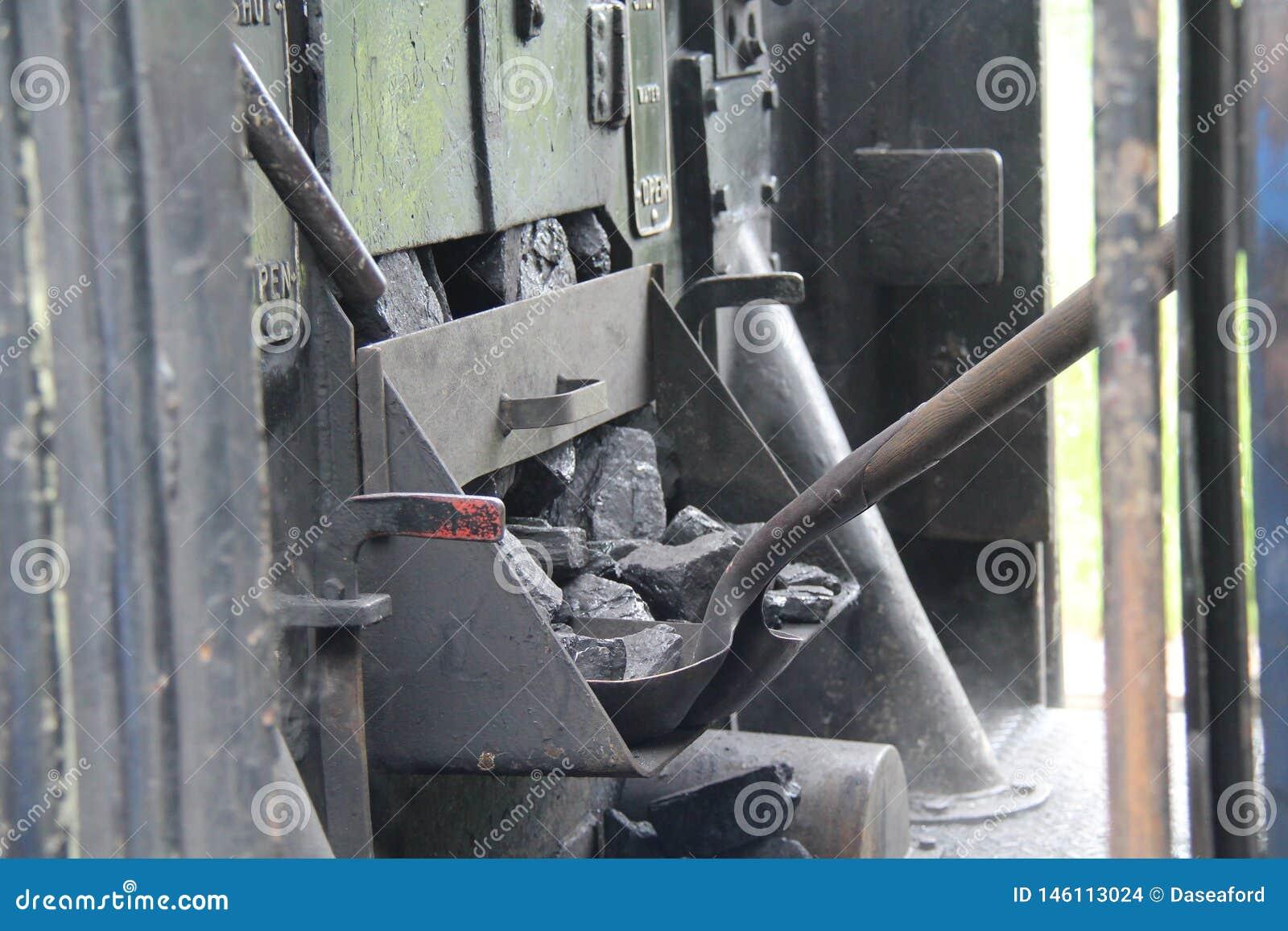 Parowy Taborowy silnik