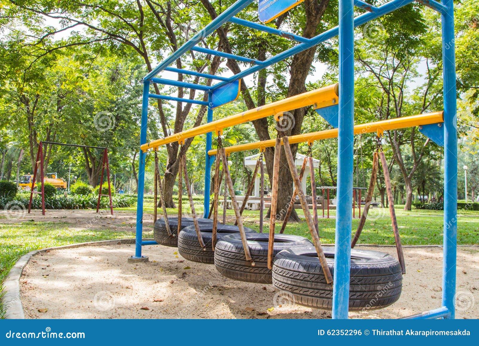 Parque Al Aire Libre Del Gimnasio Foto de archivo - Imagen ...