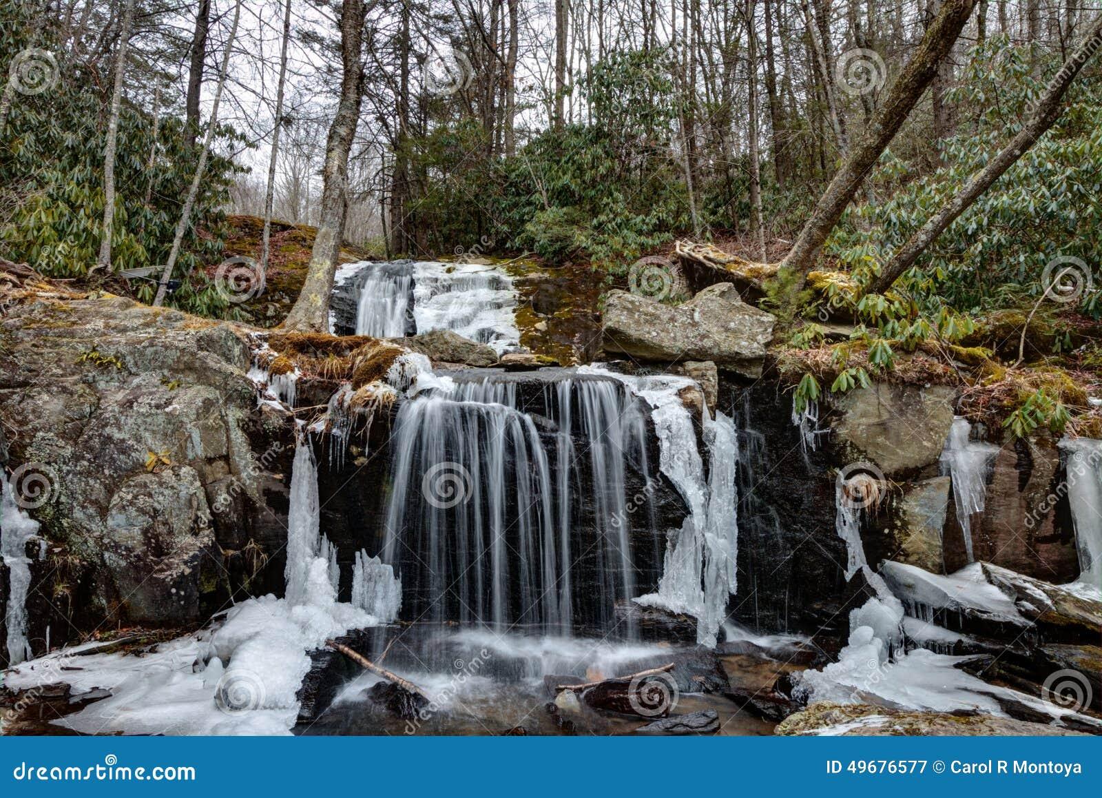 Parque apalaches das cachoeiras em Newland, North Carolina