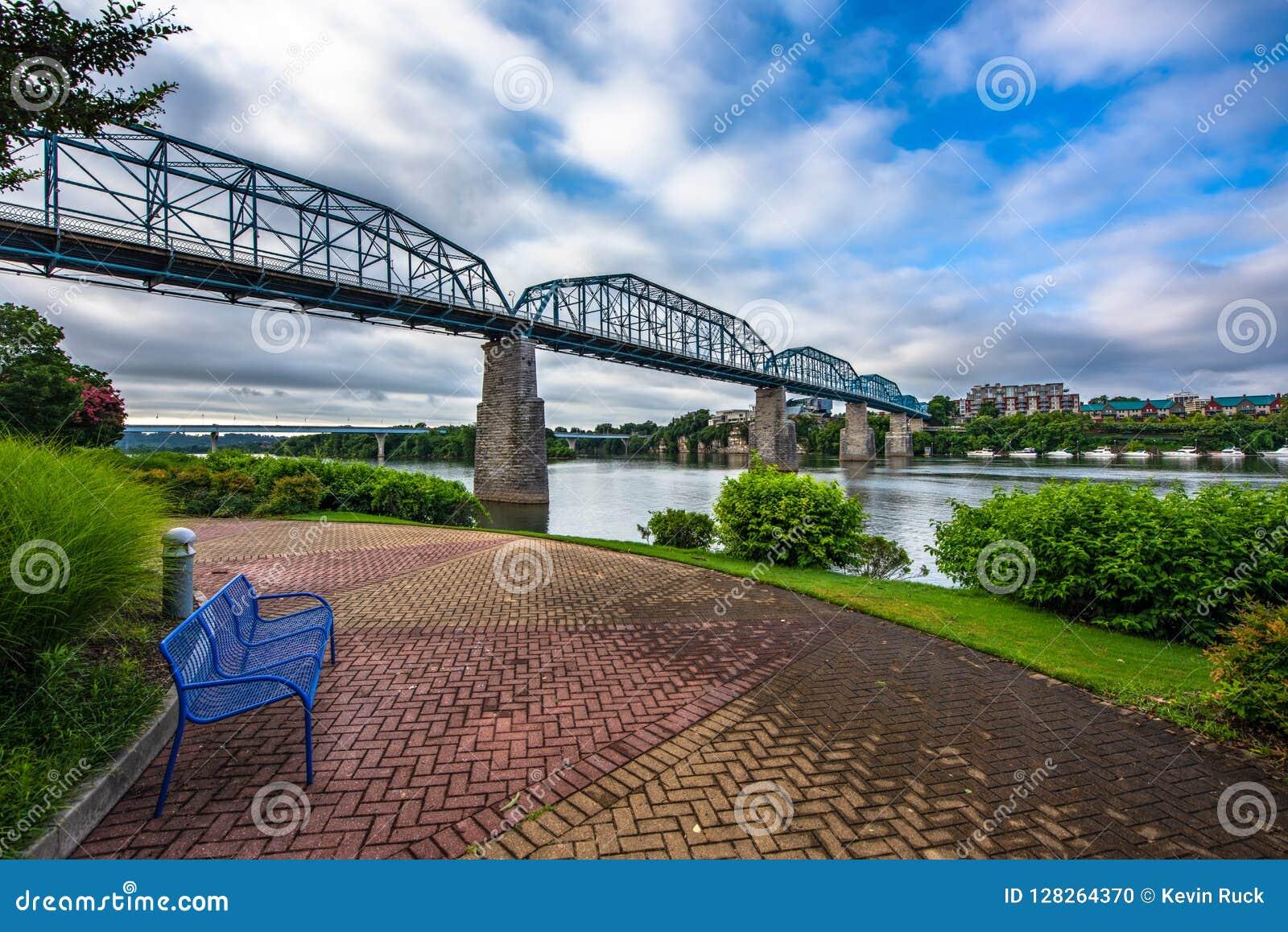 Parque céntrico de Chattanooga Tennessee TN Coolidge