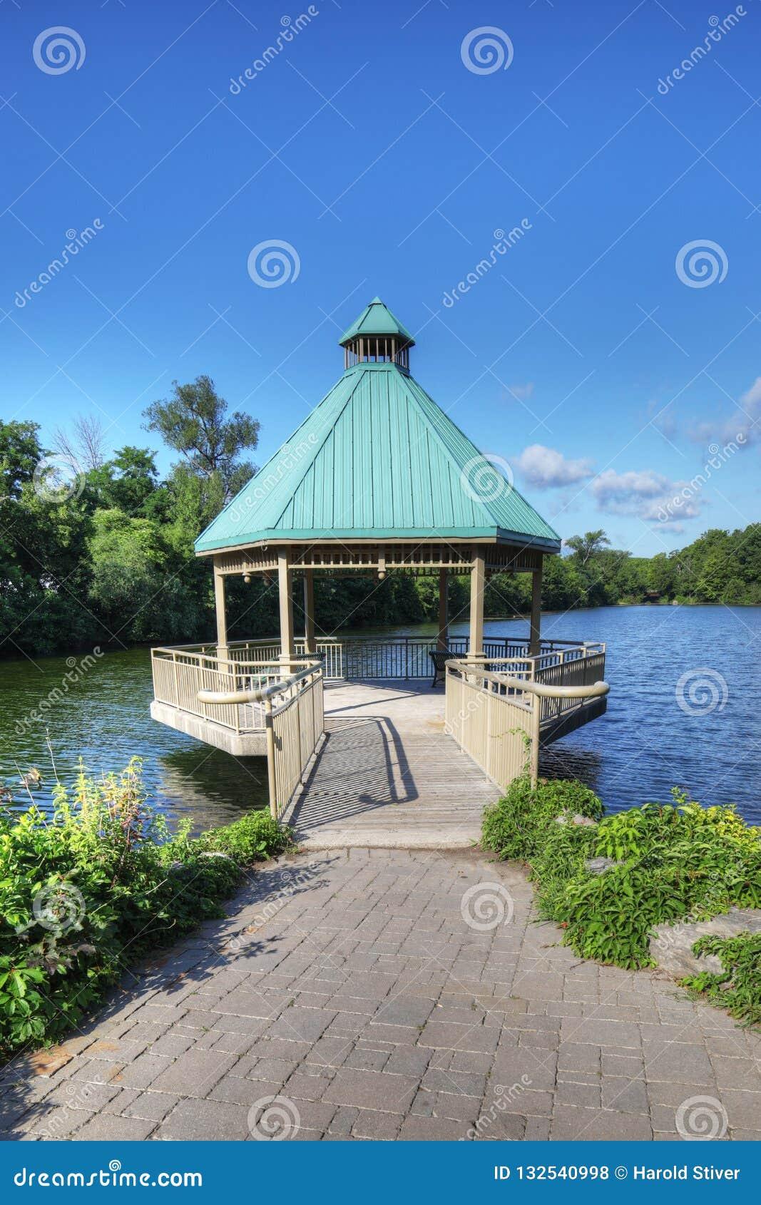 Parque centenário, Milton, Ontário, Canadá