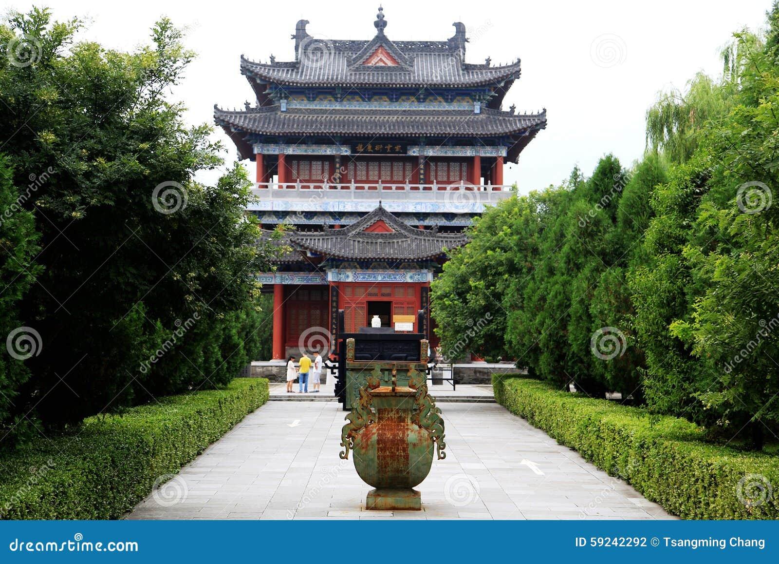 Download Parque Cultural Del Taoist De Louguantai En La Ciudad De Xian Fotografía editorial - Imagen de dinastía, artes: 59242292