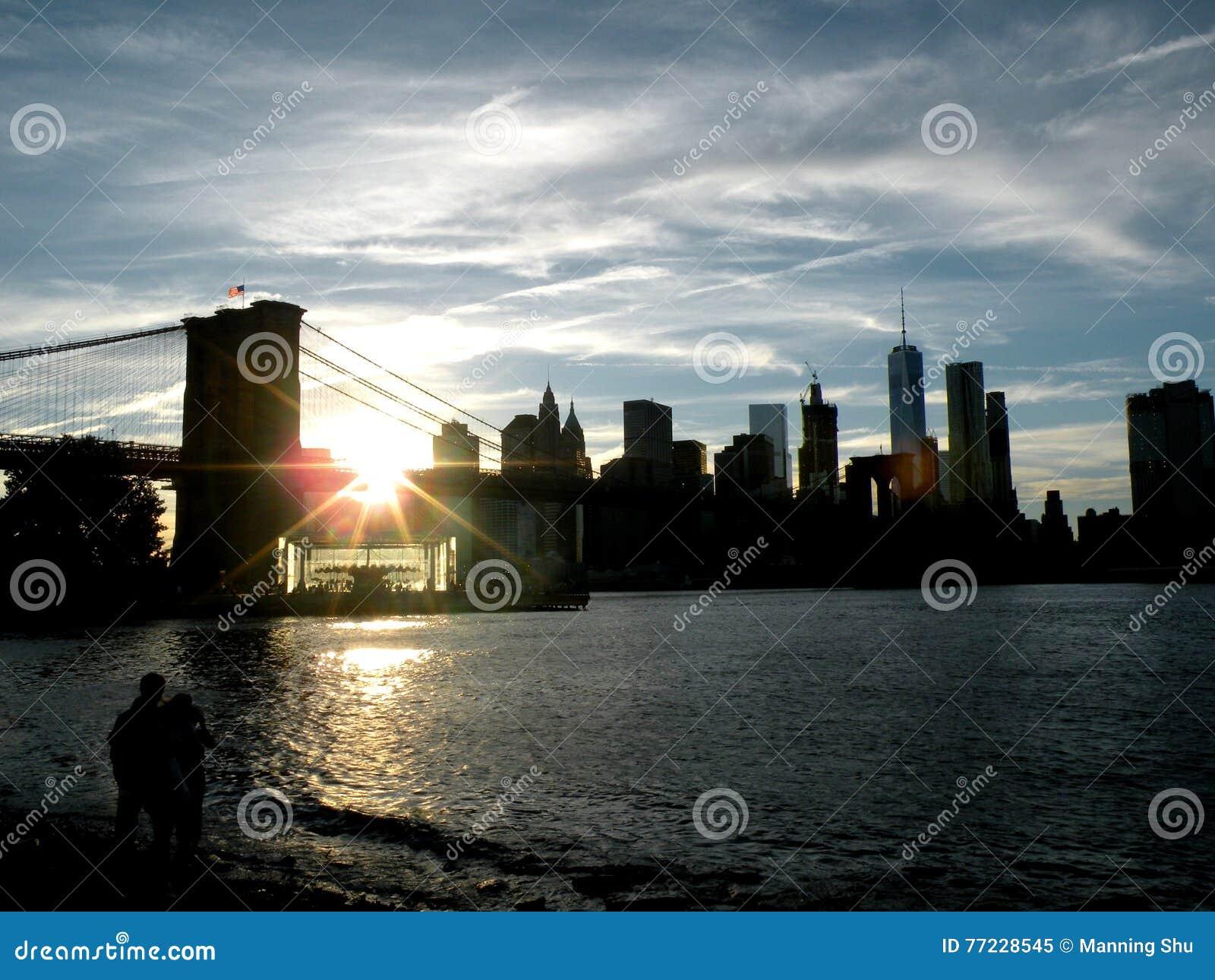 Parque da ponte de Brooklyn