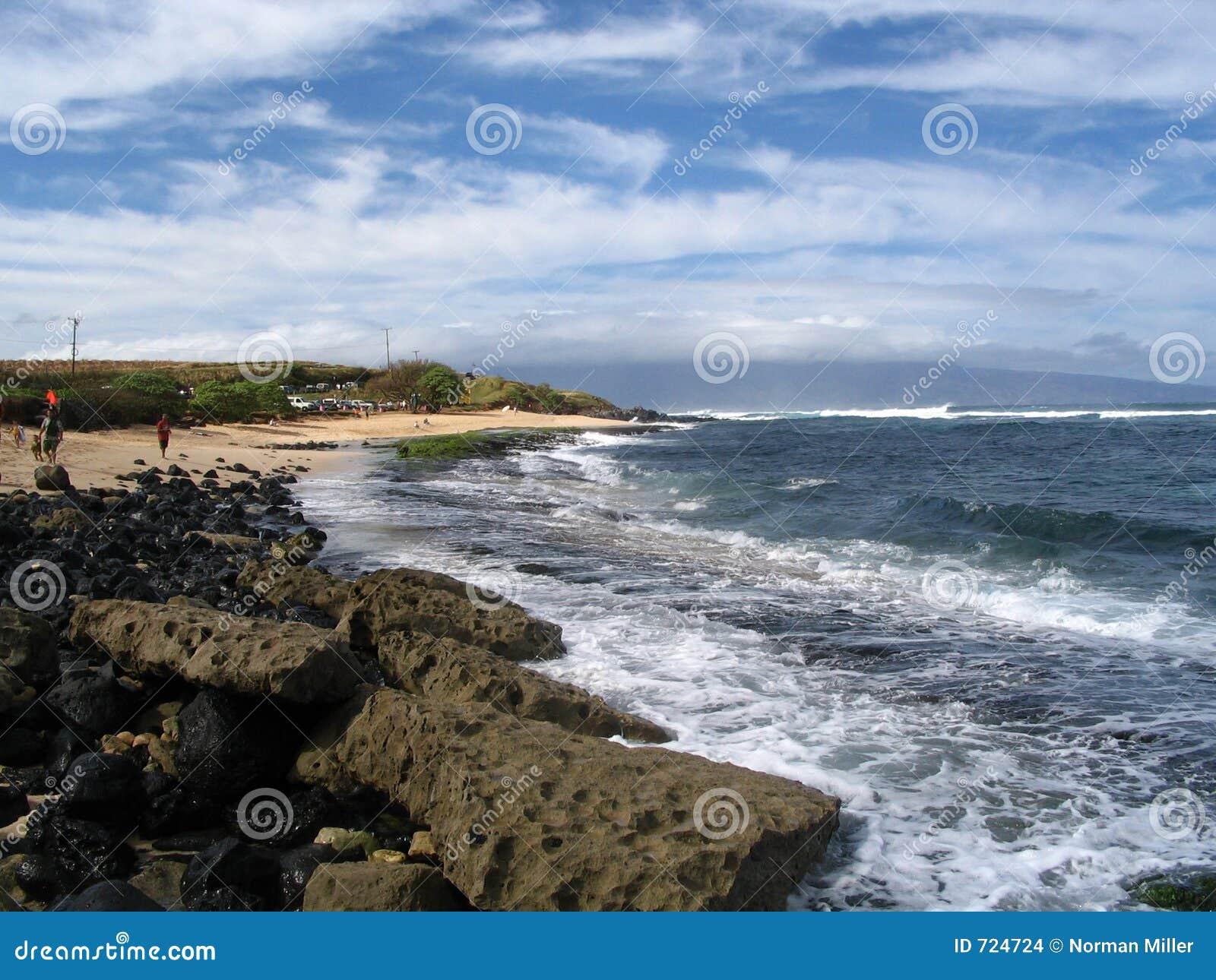 Parque da praia de Hookipa