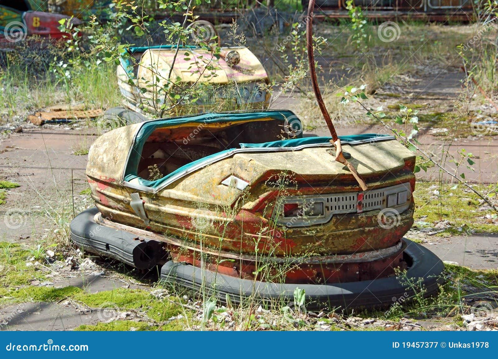 Parque de atracciones abandonado en Pripyat
