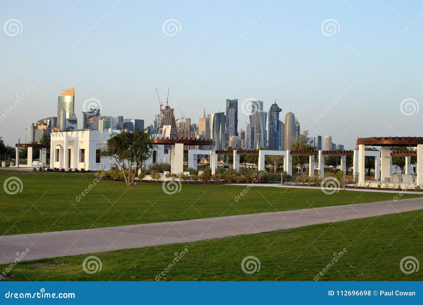 Parque de Bidda em Doha, Catar