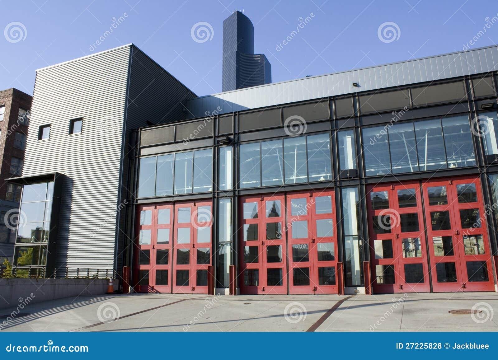 Parque de bomberos moderno