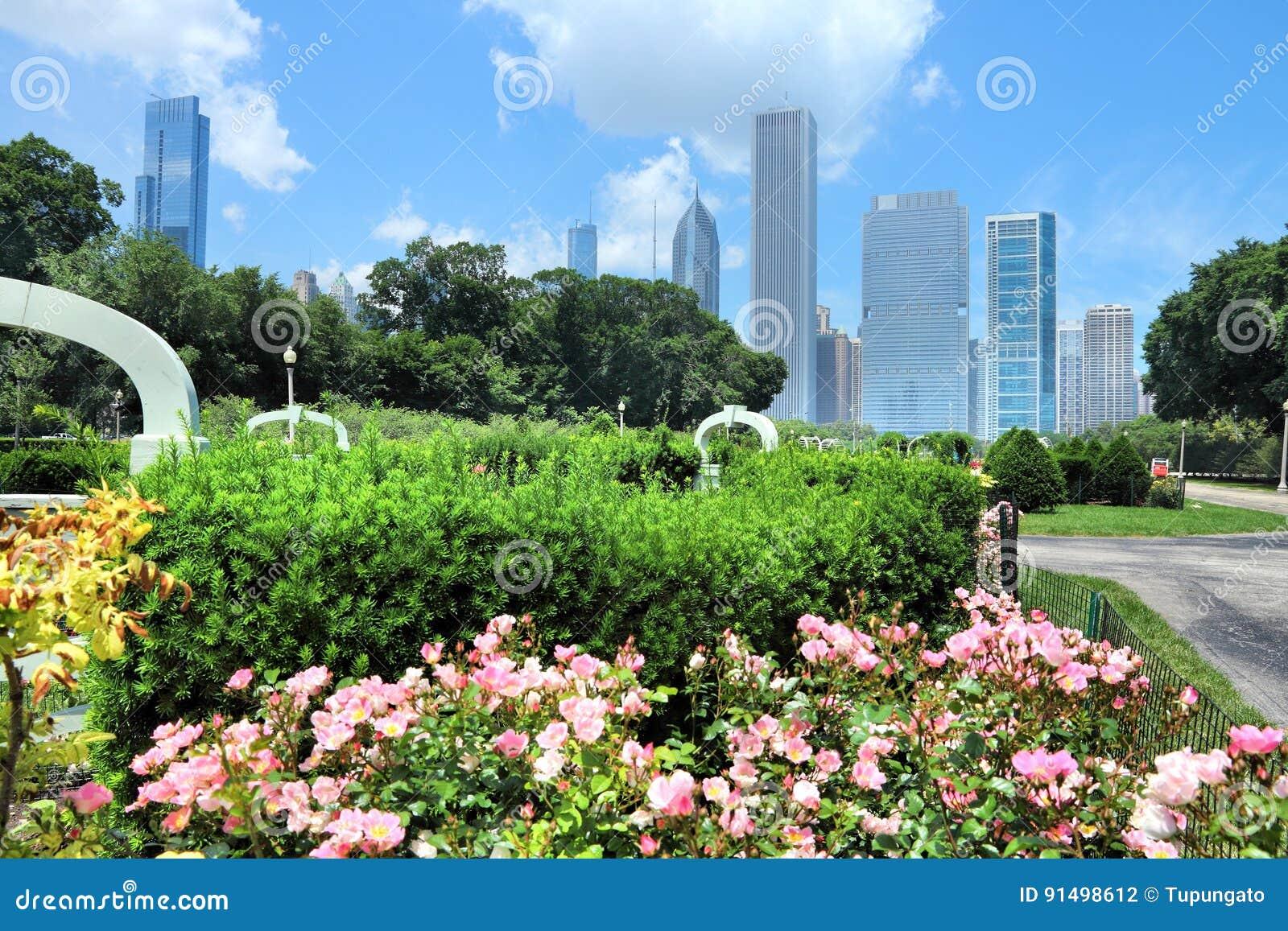 Parque de Chicago Grant