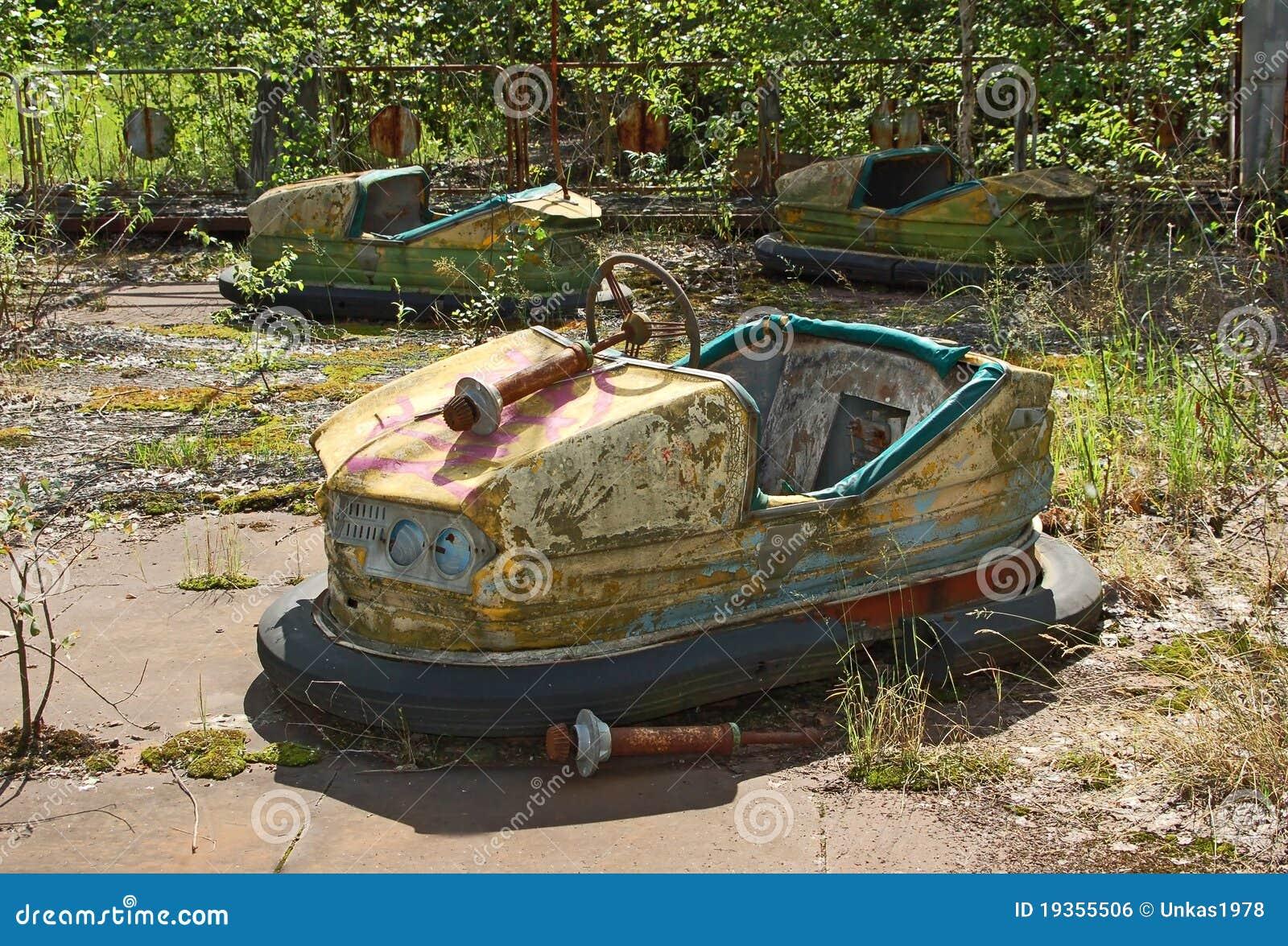 Parque de diversões abandonado em Pripyat