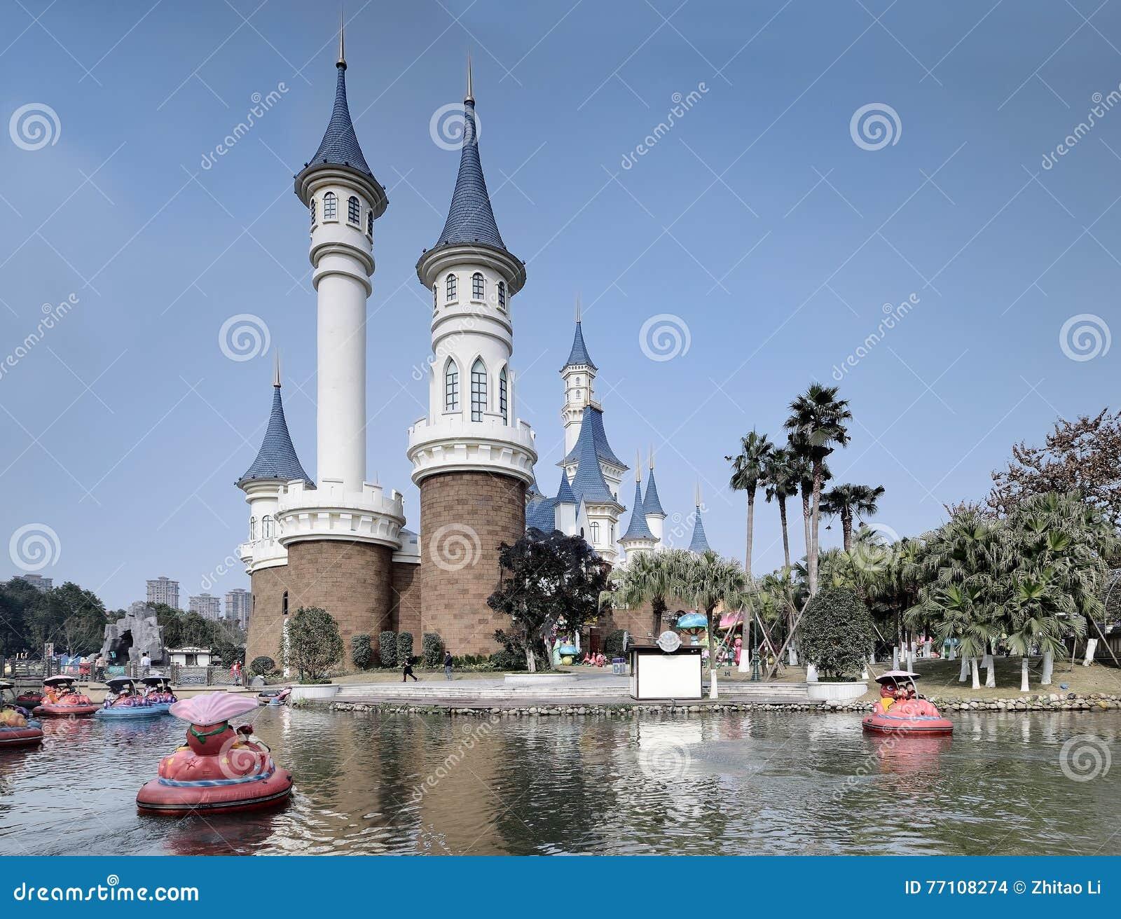 Parque de diversões da água