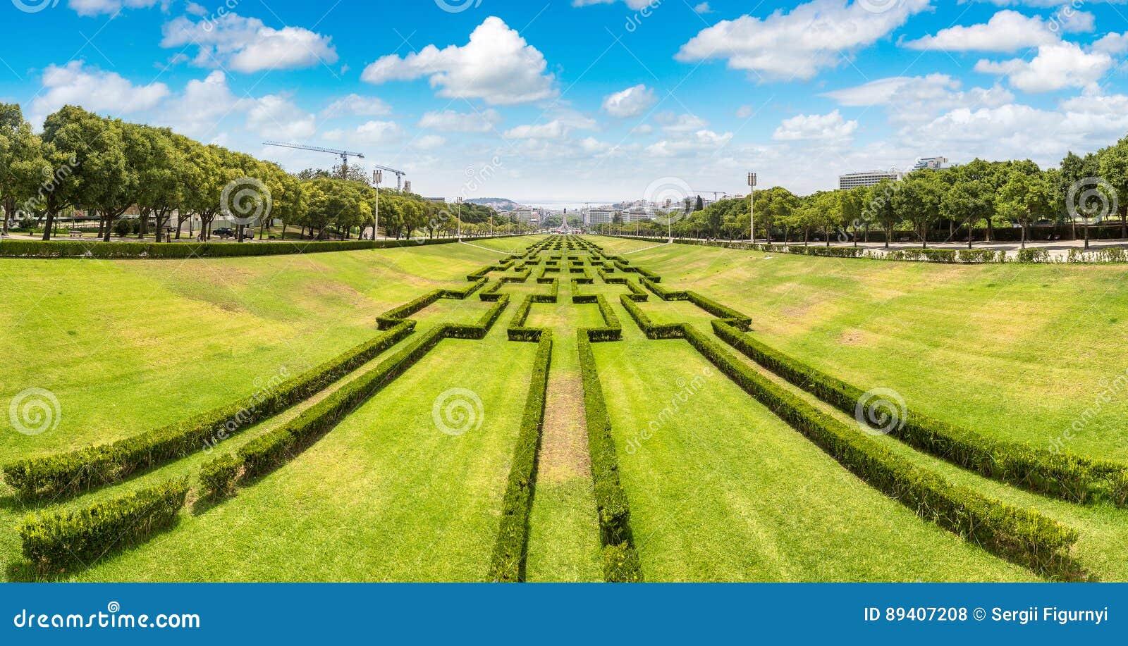 Parque de Eduardo VII em Lisboa