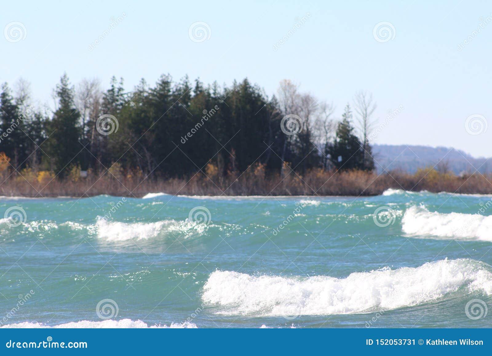 Parque de estado del lago Michigan Leelanau