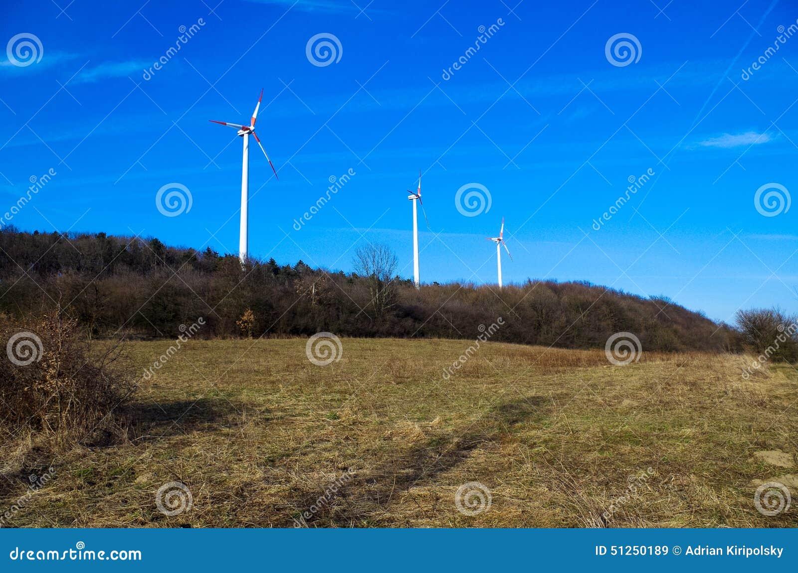 Parque de la energía eólica