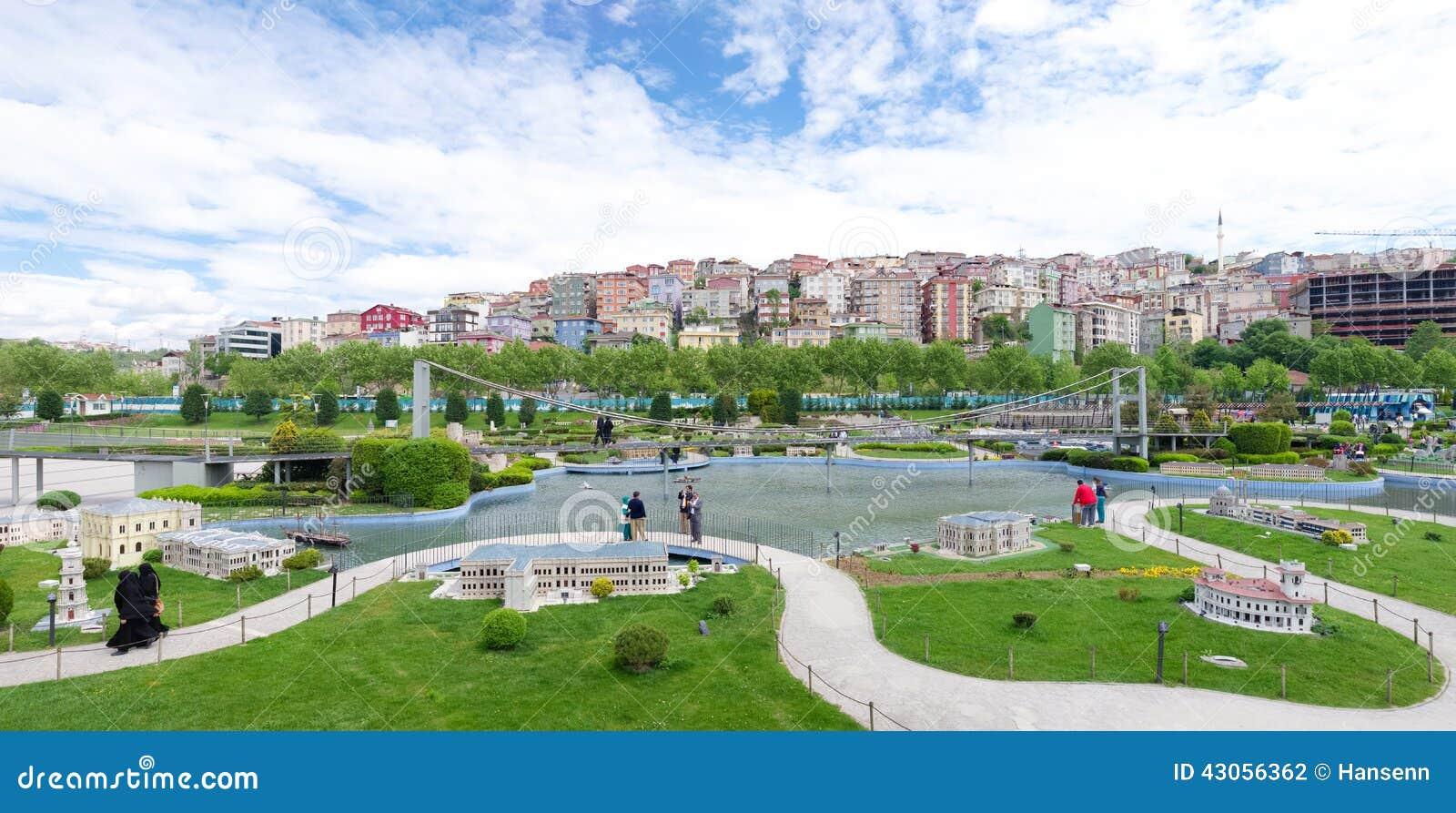 Parque de Miniaturk em Istambul