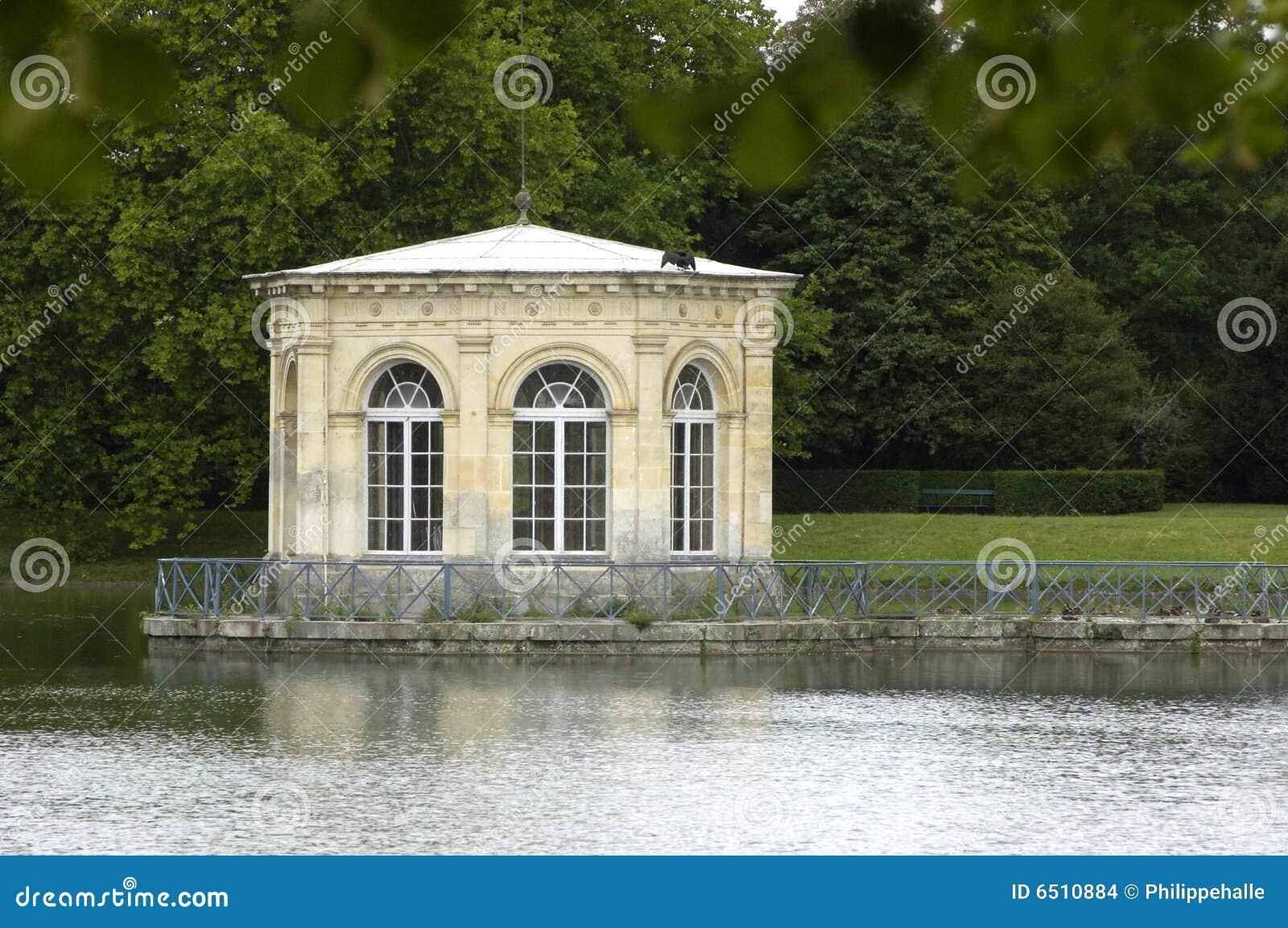 Parque de palacio de Fontainebleau