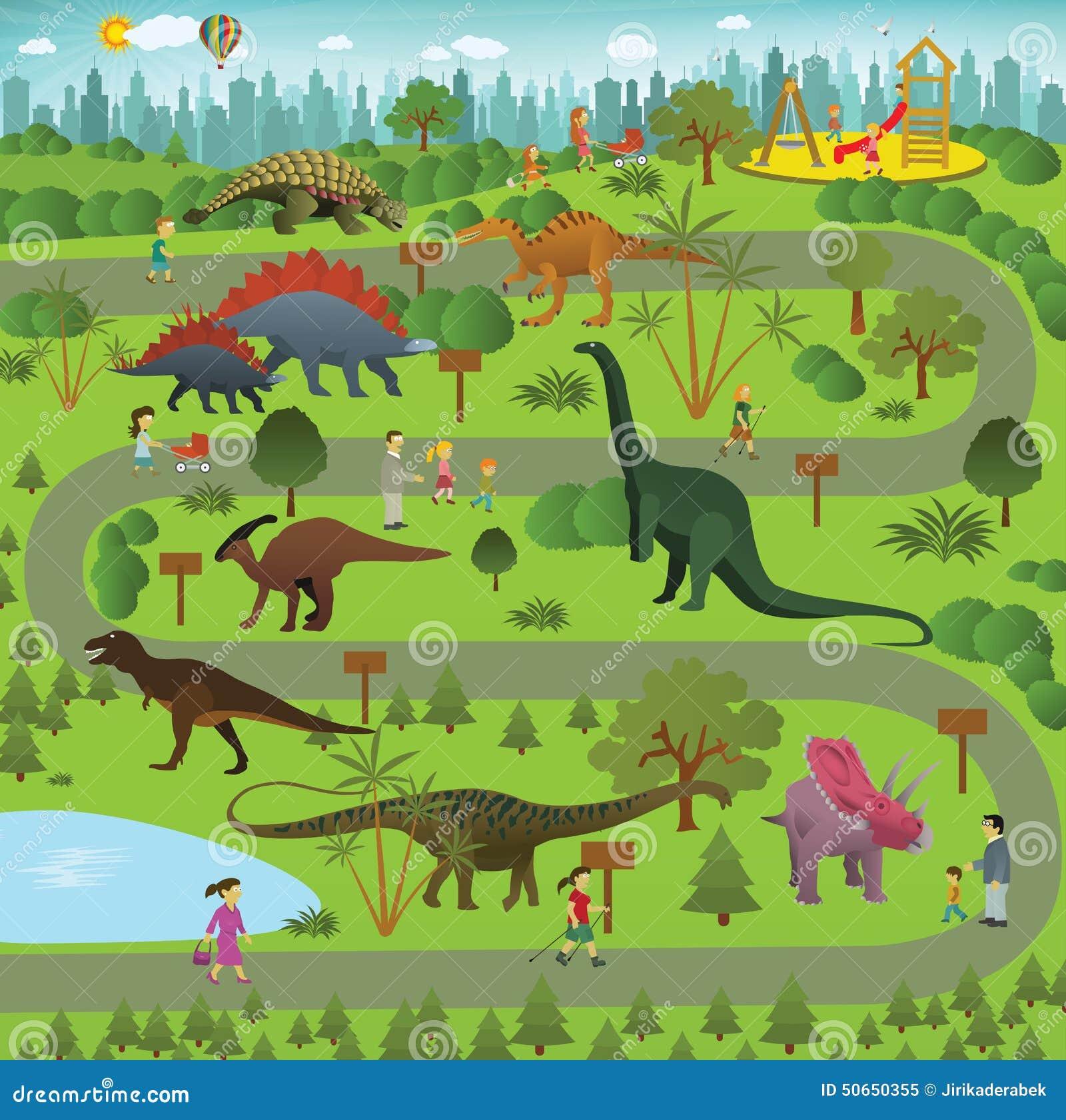Parque del dinosaurio