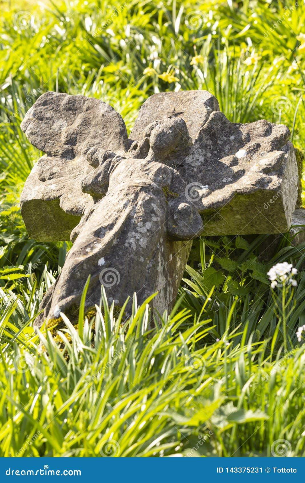 Parque do cemitério das aldeolas da torre em Londres, Reino Unido