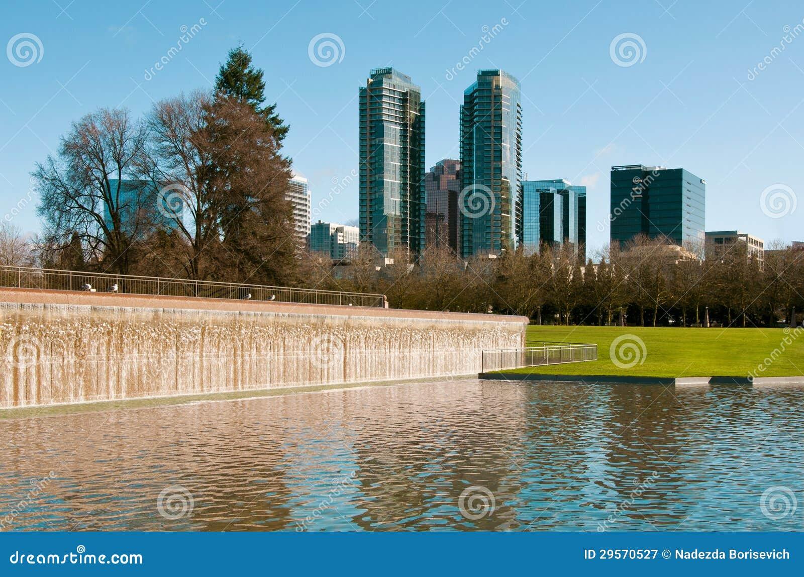 Parque do centro de Bellevue