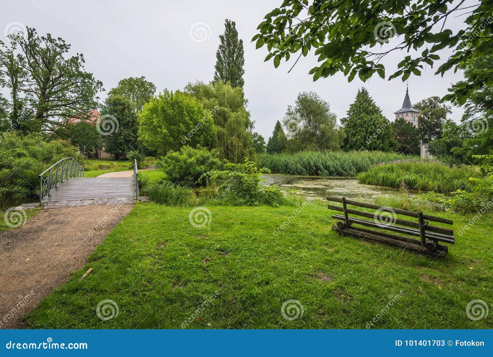 Parque en Schwedt Oder