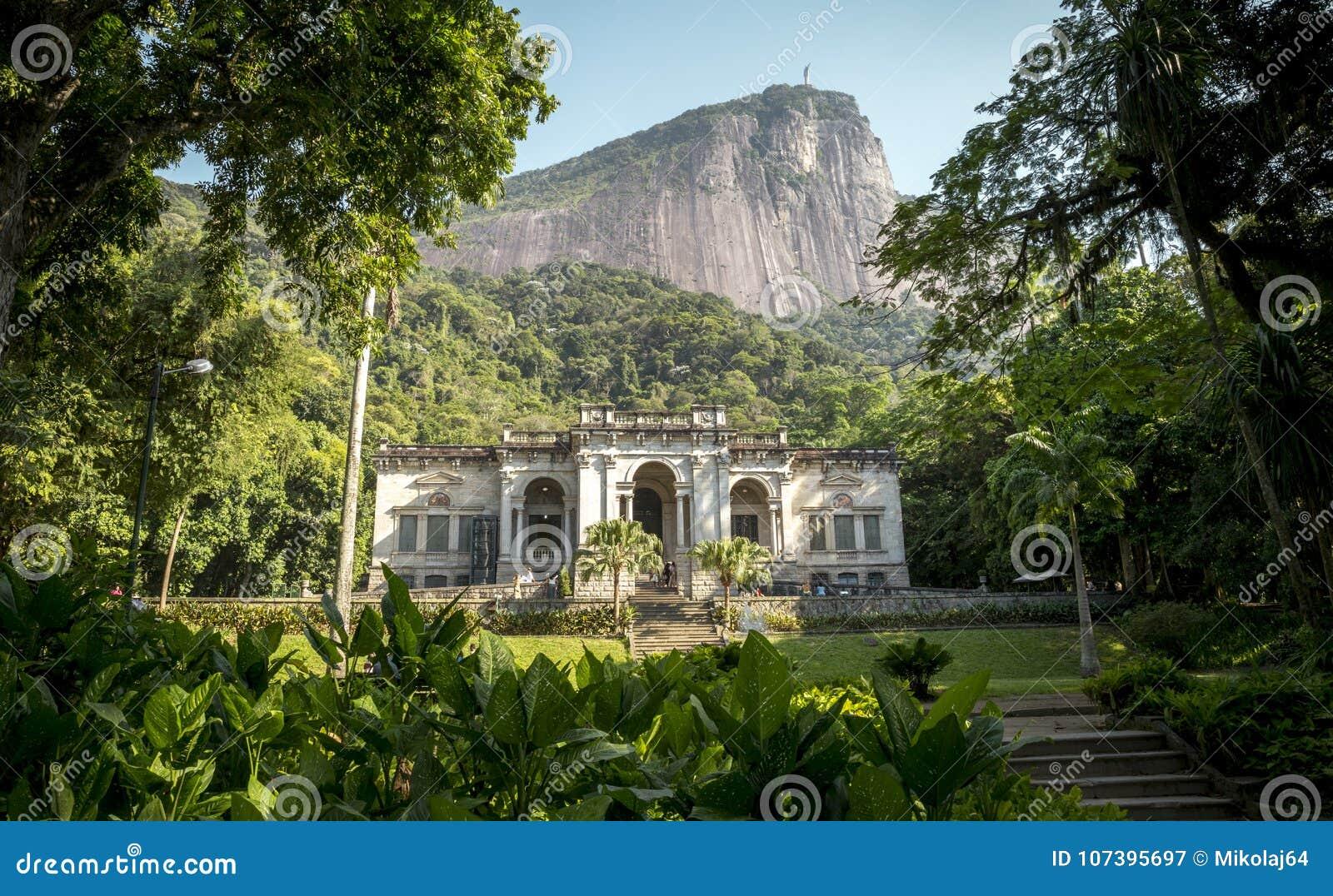 Parque Enrique Lage w Rio De Janeiro, Brazylia