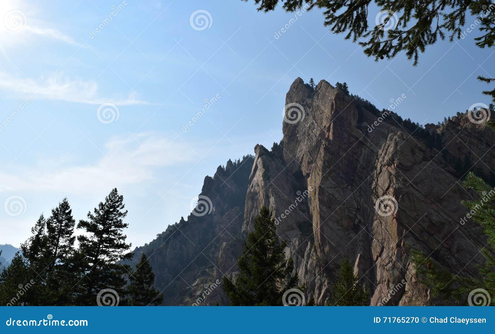 Parque estadual da garganta do eldorado em Colorado